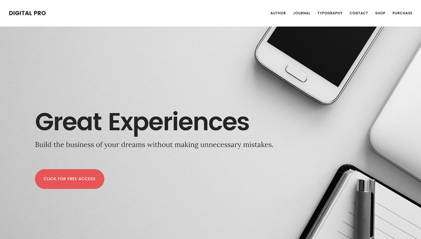 Upgrade your WordPress theme