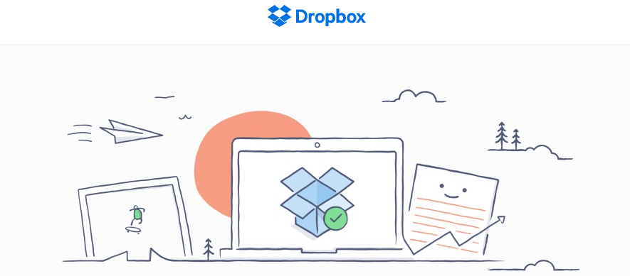 Dropbox cloud-based storage service provider