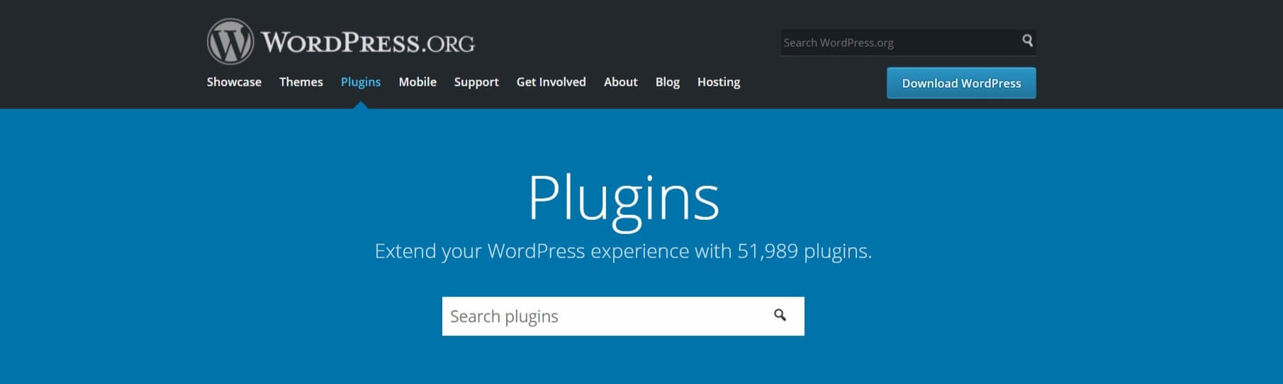 The WordPress Plugin Directory