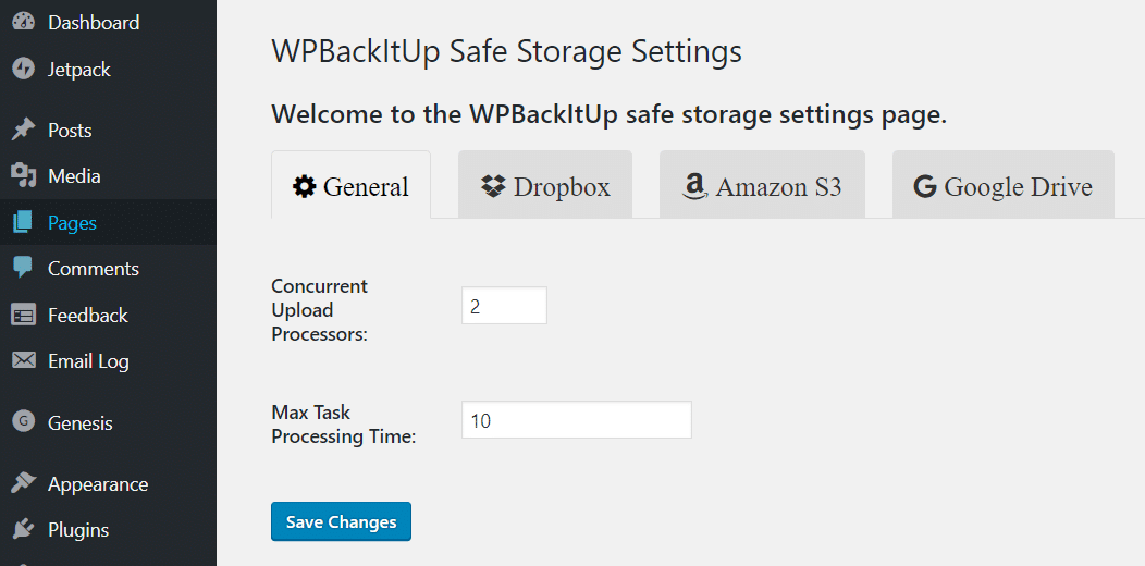 Getting Started with WPBackItUp Safe - WPBackItUp